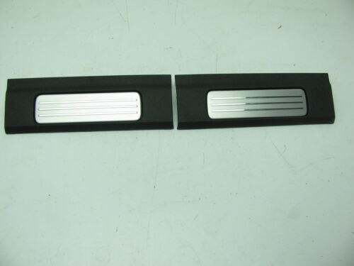 x2 NEW OEM GM Rear Interior Sill Plate W//chrome 15873281 For 07-14 Tahoe Yukon