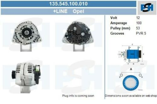 Lichtmaschine Generator NEU /& PFANDFREI