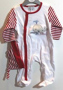 4ea218c77 H089 NWT Babluno baby Girl Clothes 3-6 months Sleeper with a hat ...
