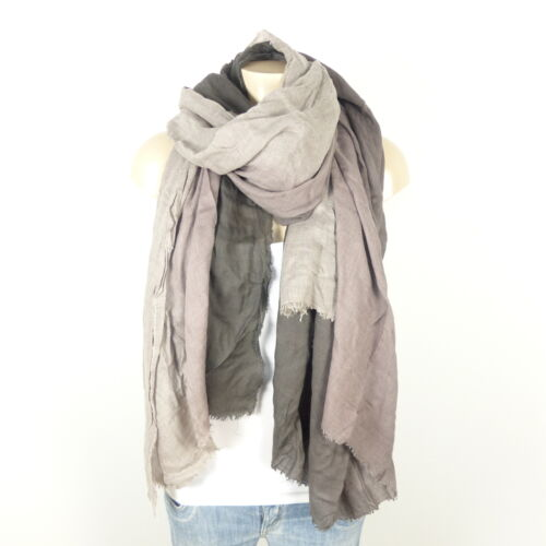 Impressions Cashmere Blend Grey Sciarpa in Ombre stoffa dxrhQtsC