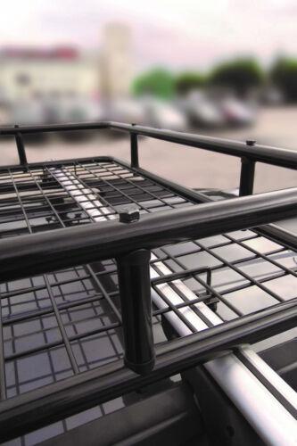 M-Way Lockable Aluminium Roof Rail Bars /& Cargo Rack Tray for Dacia Lodgy 2012/>