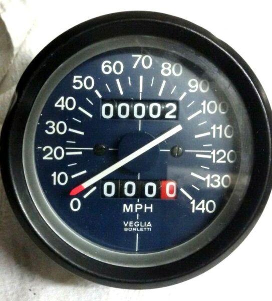 Candido Speedometer Veglia Guzzi,benelli Anni70/80 Diametro 80mm Grande Assortimento