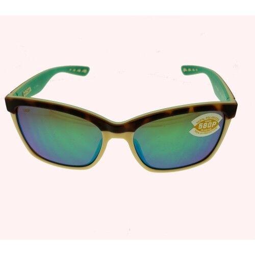 4d5d560076e Costa Del Mar Anaa Polarized Sunglasses Tortoise Green 580p Ana 105 OGMP  580 for sale online