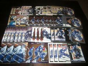 Huge-Lot-of-48-Felix-Potvin-Hockey-Cards-Maple-Leafs-with-Rookies