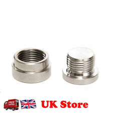 Exhaust Oxygen O2 Sensor Bung Weld on Fit M18X 1.5mm Bolt Plug Stainless Steel