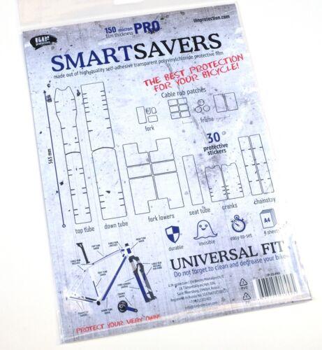 SmartSavers 2020 Helicopter Frame Bike Protection Clear Vinyl Film Shields Skin