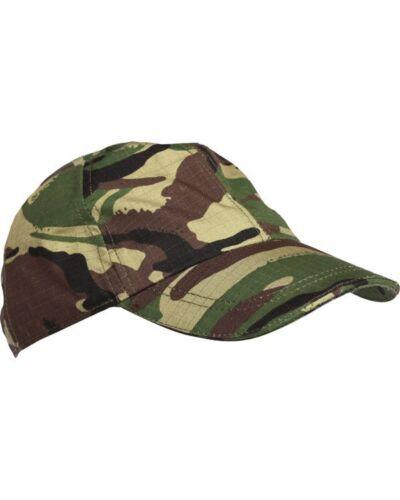 Adult Unisex DPM Camouflage Camo Baseball cap One Size Army Fancy Dress