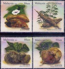 Malaysia 2009 Tuber Plants MNH