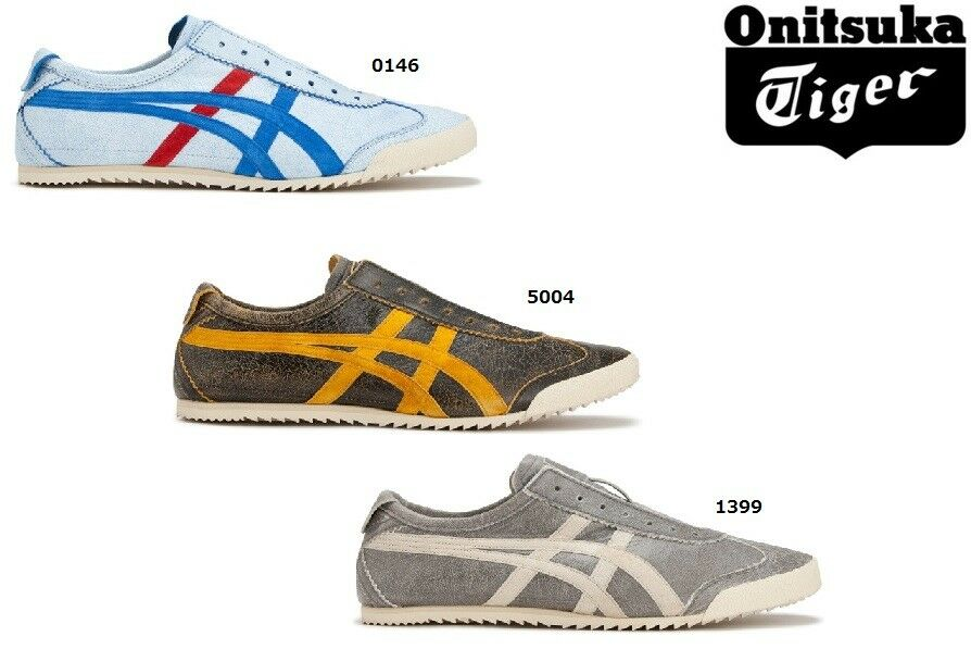 New Onitsuka Tiger MEXICO SLIP-ON DX NIPPON MADE THL504 Freeshipping!!