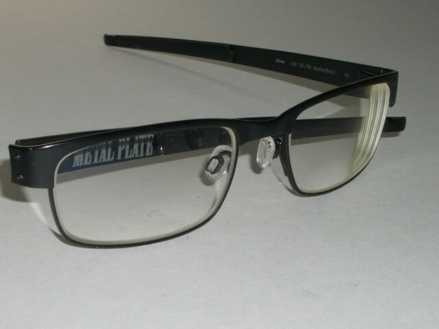 bd565199bf Auth Oakley 22-198 Metal Plate Titanium Matte Black RX 53mm Eyeglasses. +.   119.99Pre-owned. Free Shipping