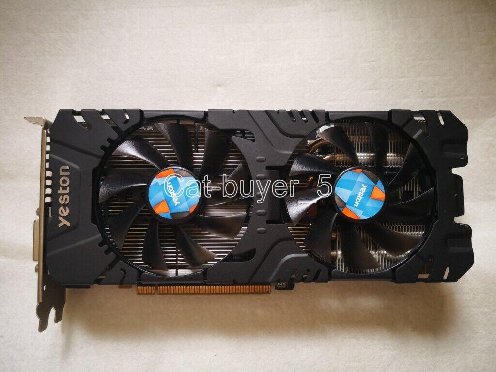 YESTON AMD Radeon RX570 4GB GDDR5 PCI-E Graphics Video Card DP DVI HDMI
