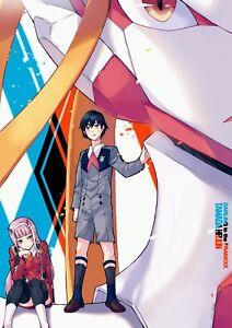 Poster A3 Darling In The Franxx Zero Two Hiro Ecchi Anime Manga Cartel 05