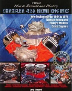 Repair-Or-Modify-64-To-71-Dodge-Or-Plymouth-426-Hemi-Engine-Manual-Book