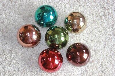 Farbige Metallkugeln z. Außen-o. Innendeko♥Kugeln in versch. Farben wählb. 10 cm