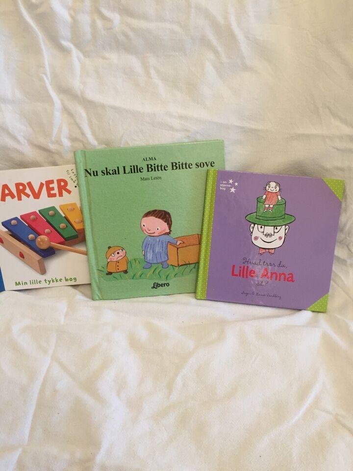bøger med og uden lyd, bøger