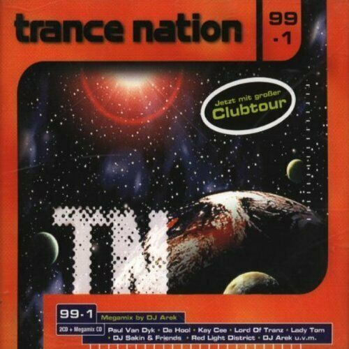 Trance Nation 99/1 [3 CD] Da Hool, DJ Quicksilver, Kosmonova, Paul van Dyk, M...