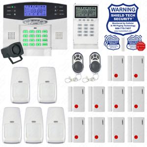 Kit Alarma Inalámbrica Casa Sistema De Seguridad pantalla con retroiluminación indicador de voz nos Enchufe EW