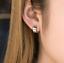 925-Sterling-Silver-Plain-10x4-5mm-Small-Cuff-Hoop-Huggie-Helix-Earrings-Unisex thumbnail 6