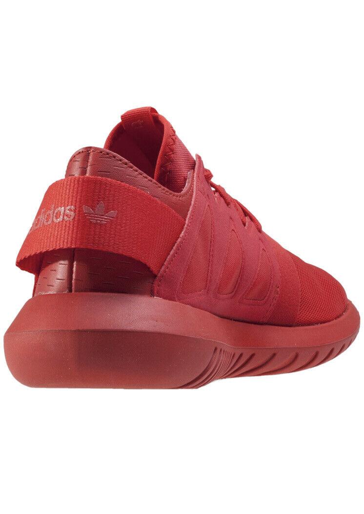 Adidas tubular virale Rouge Unisexe Chaussure De Course Baskets 9 43 S75913 RARE 115 2016