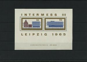 Germany-GDR-vintage-yearset-1965-Mi-Block-23-Mint-MNH-More-Sh-Shop