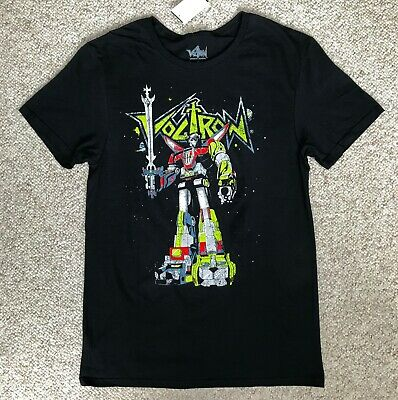 """Available Sm to 5x Voltron /""""Defender of the Universe/"""" Mens Unisex T-Shirt"""