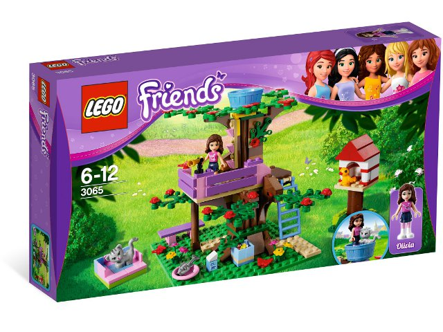 NEW LEGO FRIENDS 3065 - OLIVIA'S TREE HOUSE RETIrojo SET