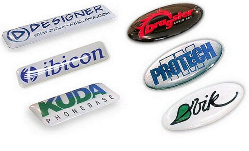 Gel Stickers custom made to order.