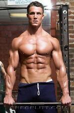 """053 Greg Plitt - American Fitness Model Actor 14""""x21"""" Poster"""