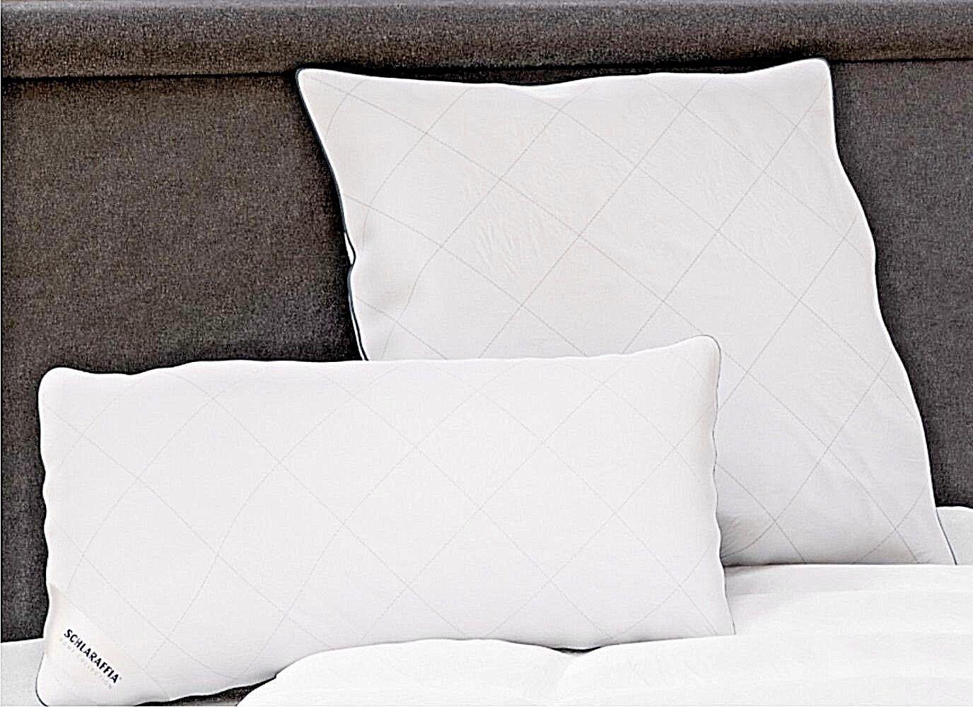 Schlaraffia Relax Kopfkissen Faserkissen 100% Polyester Schlaf Kissen waschbar