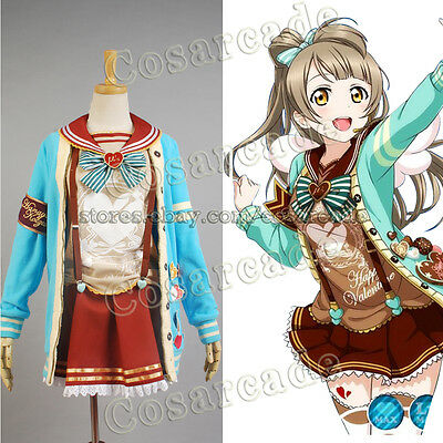 Love Live!Kotori Minami COSplay Costume Valentine Day Dress Muse Outfit Uniform