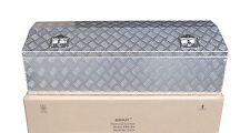 "Aluminum Truck Tool Box for Garage Pickup Trailer Storage 48.5"" x 15"" Heavy Duty"