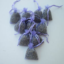 50 Lavender Bags Sachets Wardrobe Drawer Aromatic Repel Calming Air Fresh