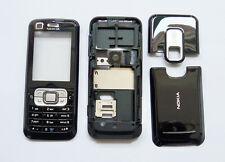 Black Housing cover Case fascias facia faceplate For Nokia 6120