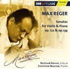 Max Reger: Sonatas for Violin & Piano Op. 122 & Op. 139 (CD, Mar-2004, Haenssler)