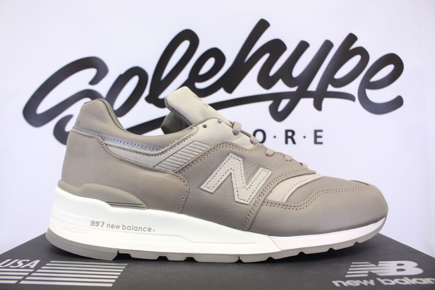 NEW BALANCE 997 MADE IN USA HORWEEN BESPOKE BEIGE M997BKR SZ 7