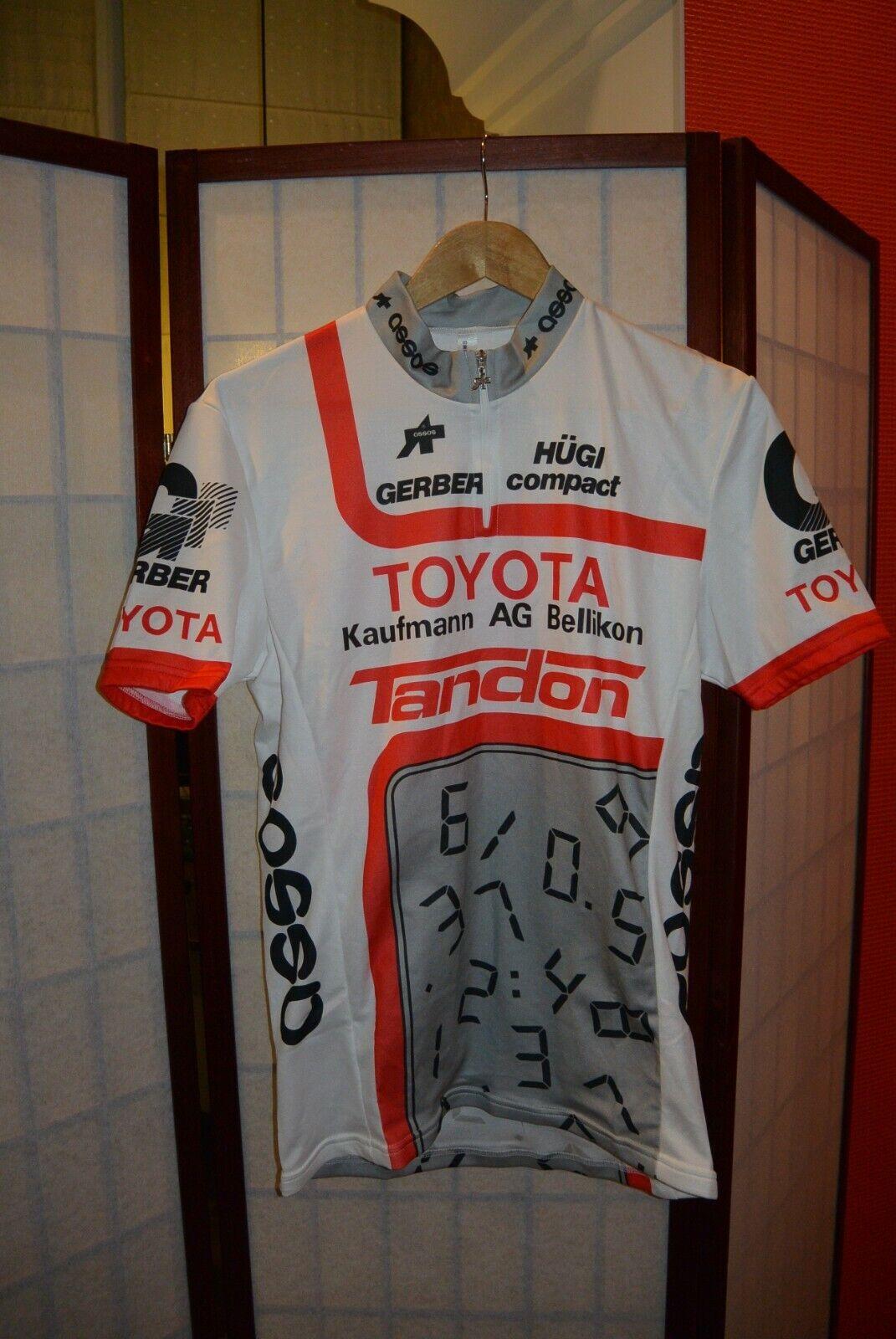 Toyota Tandon Assos retro vintage cycling jersey