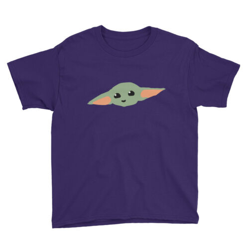 BABY YODA Logo Youth Short Sleeve T-Shirt
