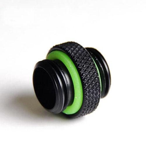 "Barrow G1/4"" Matte Black Mini Male To Male 5mm Low Profile Fitting Extender -061"