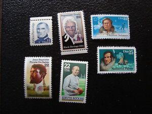 Vereinigte-Staaten-Briefmarke-Y-amp-t-N-1560-1620-1670-1699-1807-1828-N-MNH