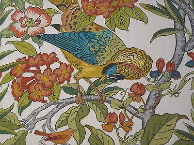 Gp Amp J Baker Curtain Fabric Design Quot Imperial Pheasant Quot Per
