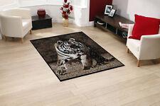 Qualità TIGRE TAPPETO 115 cm x 160 cm giungla safari animal print berclon Twist