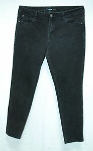 Faded-BLACK-Low-Rise-Tapered-Leg-SKINNY-Fit-JORDACHE-5-Pocket-Jeans-16