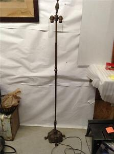 Rembrandt double socket fancy base floor lamp 3 for 3 way thick base floor lamp antique bronze