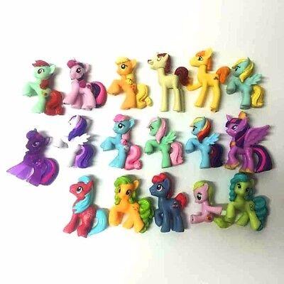 "Random Lot 10pcs Toys MY LITTLE PONY PARTY FRIENDSHIP IS MAGIC MLP 2.0"" Figures"