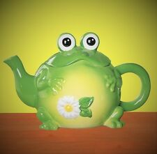 Genial Item 1 Whimsical Toad Frog Shape Ceramic Teapot Hand Painted Collectible Kitchen  Decor  Whimsical Toad Frog Shape Ceramic Teapot Hand Painted Collectible ...