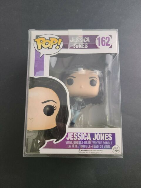 Funko POP! Marvel Jessica Jones Collectible Vinyl Figure Bobble Head #162