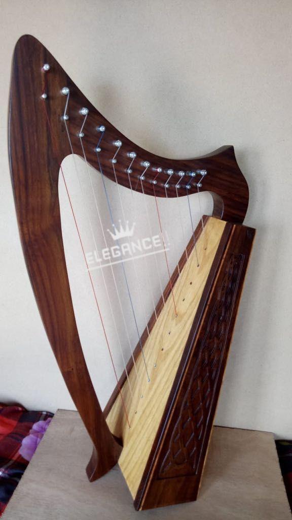 Marca Nueva 12 cuerdas cuerdas cuerdas de palo de rosadodo Irlandés Arpa, Gratis Estuche & Tunning clave 9b5973