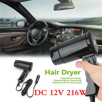 Car Hair Blow Dryer Heat Dc12V 216W