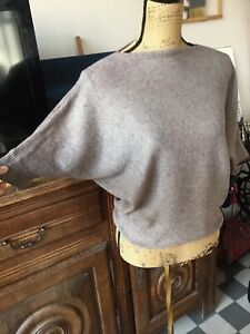 Pull Femme 38/40  Made In Italy Manches 3/4 Bon État