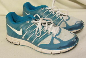 best sneakers bf8b9 158dc Image is loading Nike-lunarlon-flywire-running-shoes-mens-9-5-